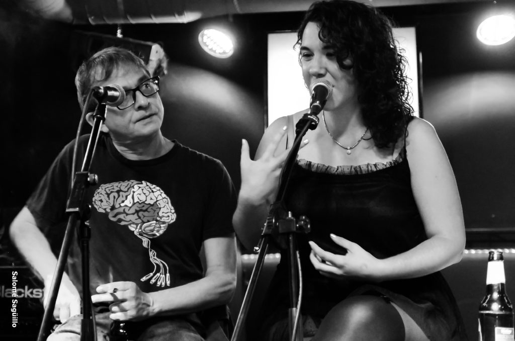 Alejo Alberdi y Elena Rosillo. Foto: Salomé Sagüillo.