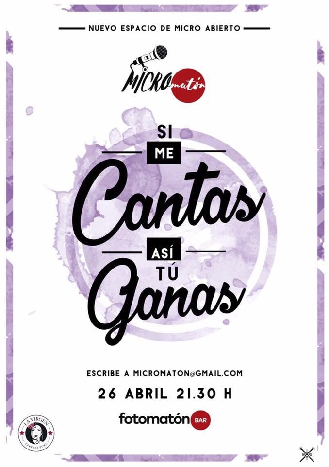 Un nuevo open mic en Madrid: el Micromatón